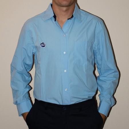 Camisa batista con detalle en cuello